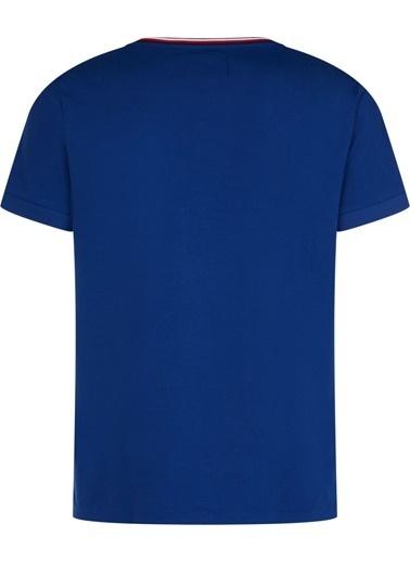 Tommy Hilfiger Erkek 2 Mb Clımate Control Tişört TT0TT05791 Mavi